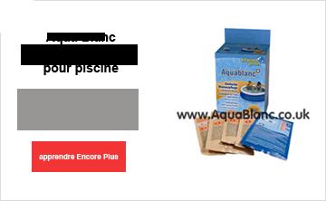 AquaBlanc produits chimiques pour piscine