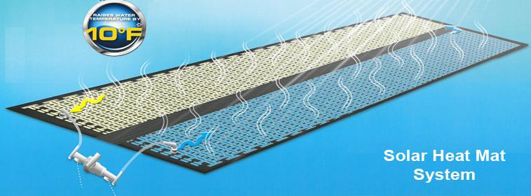 piscine de tapis de chaleur solaire